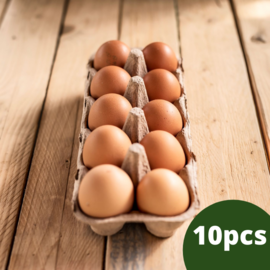 Add on Organic Eggs- One Month Subscription (10 eggs)