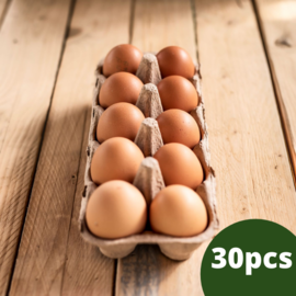 Add on Organic Eggs- One Month Subscription (30 eggs)