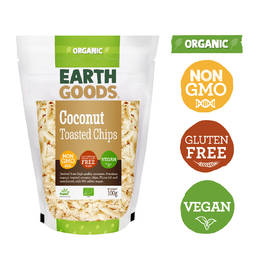 Earth Goods Organic Toasted Coconut  Chips