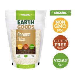 Earth Goods Organic Coconut Flakes