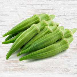 Organic Okra, Indian Origin