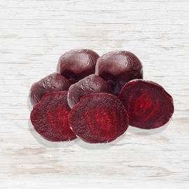 Organic Cooked red beetroots - Holland
