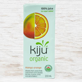 Kiju Organic Mango and Orange Juice 200ML
