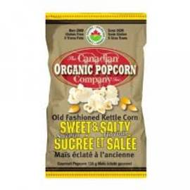 Sweet and Salty, Organic Popcorn