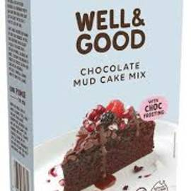 Well and good mud cake mix