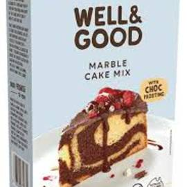 well and good marble cake mix